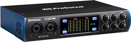 Interfaz de audio de Studio 68c
