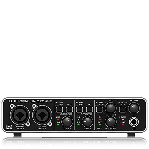 Behringer U-PHORIA UMC204HD Interface de audio/midi usb