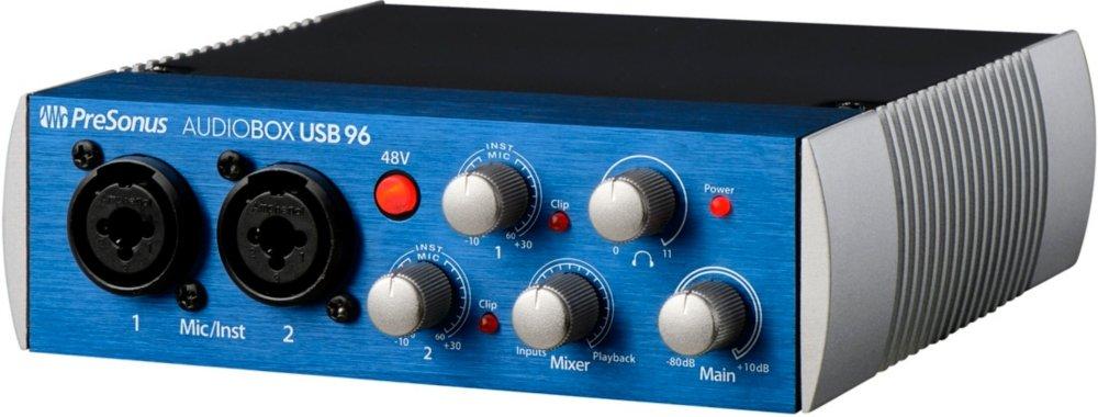 tarjeta de audio usb - Presonus AudioBox USB 96
