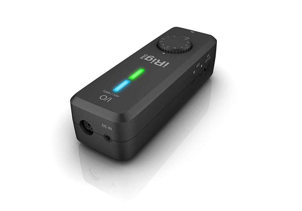 tarjeta de sonido usb - IK Multimedia IRig Pro I/O
