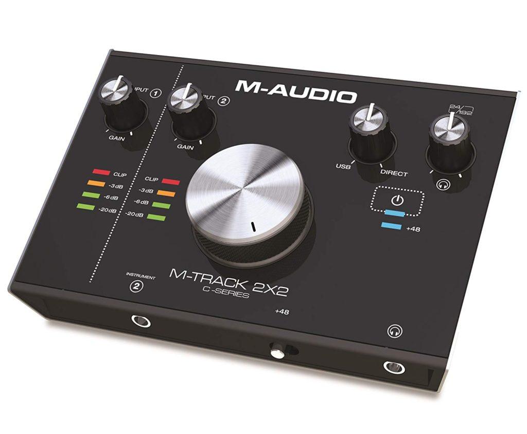 interfaz de audio usb - M-Audio M-Track 2x2