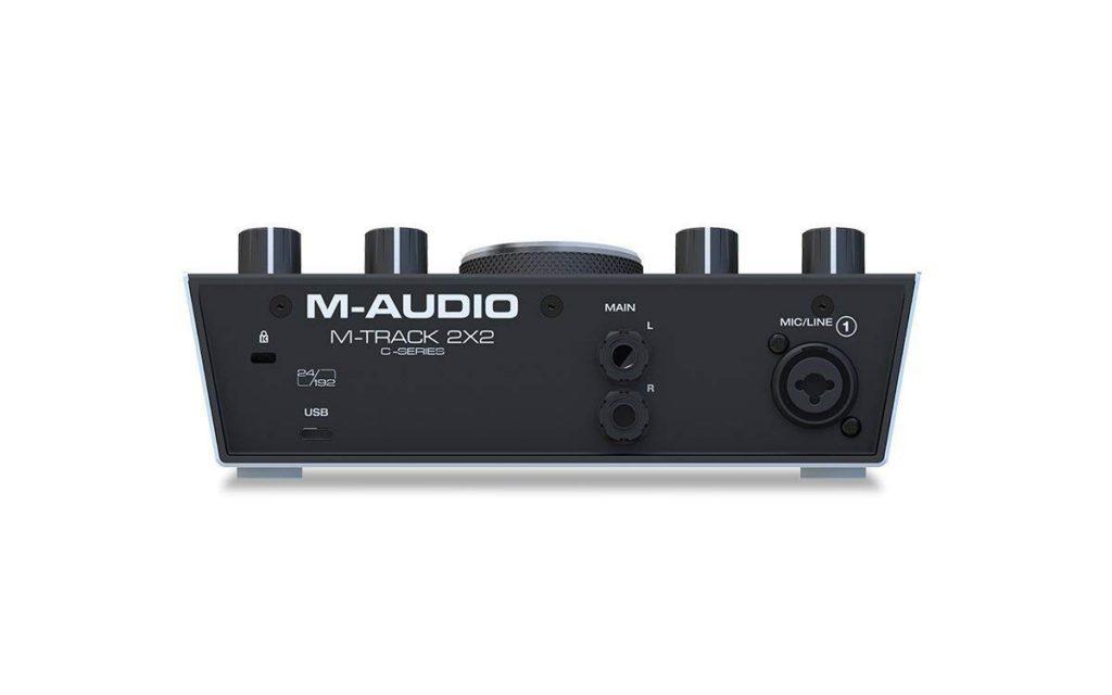 tarjeta de audio - M-Audio M-Track 2x2