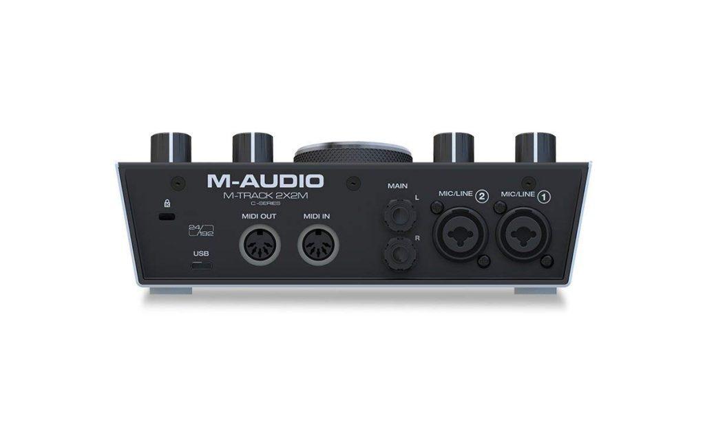 tarjeta de sonido usb - M-Audio M-Track 2x2M