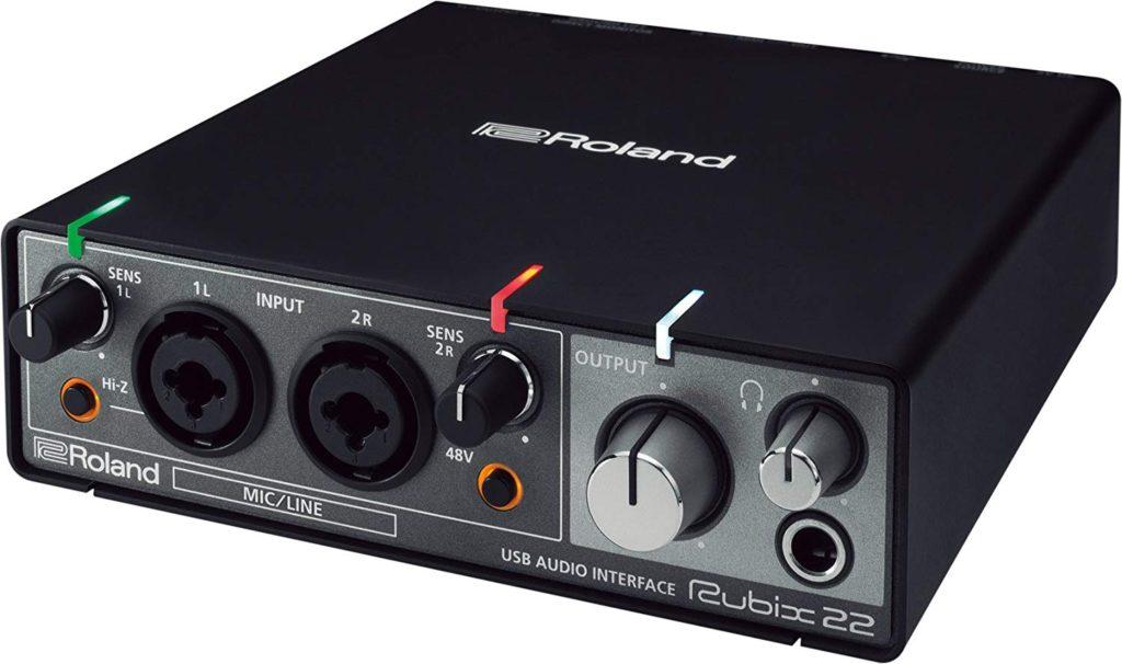 Tarjetas de sonido Roland Rubix22