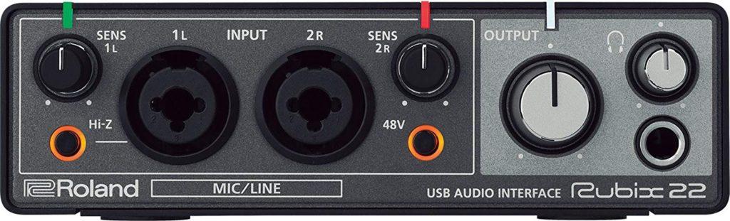 tarjeta de sonido usb - Roland Rubix 22