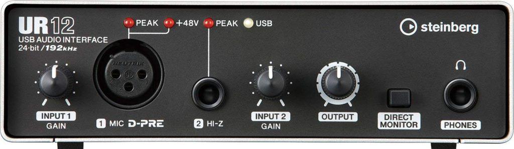 tarjeta de sonido usb - Steinberg UR12