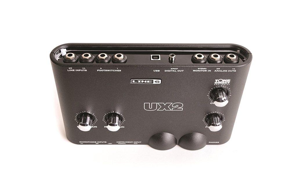 Interfaz de audio Line 6 Pod Studio UX2