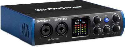 Interfaz de audio Presonus-Studio-24c