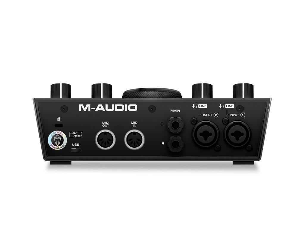 M-Audio Air 192|6 - panel posterior
