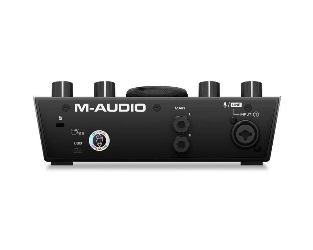 Tarjeta de sonido externa M-Audio Air 192|4 - panel posterior