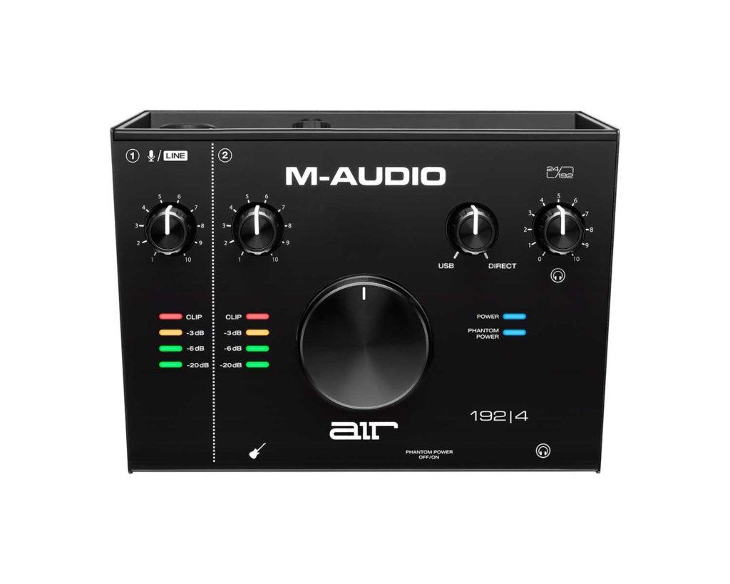 Tarjeta de sonido USB M-Audio-Air-192-4