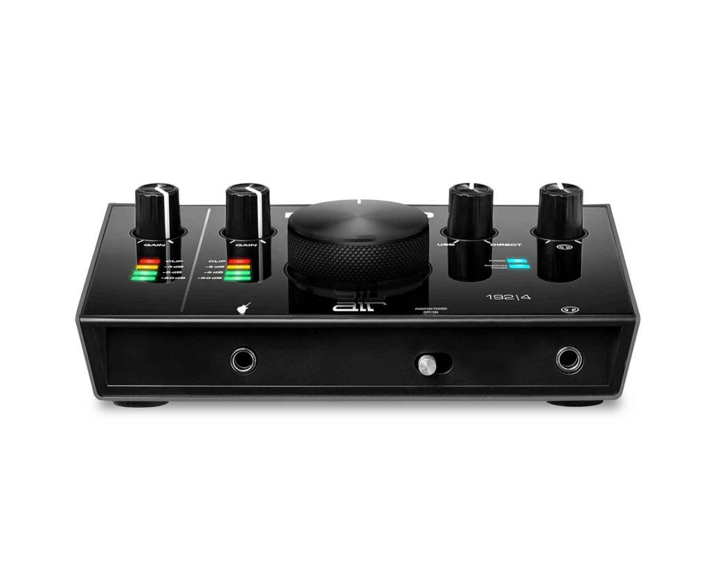 Interfaz de audio  M-Audio Air 192|4 - panel frontal