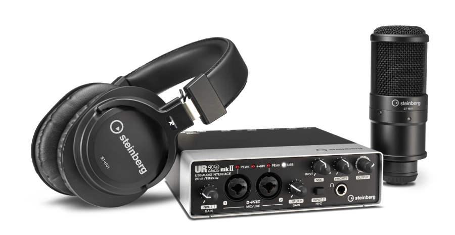 Pack de grabación UR22mkII