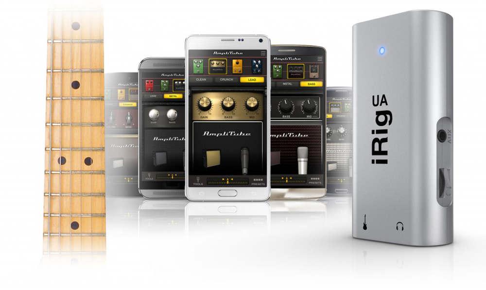 Software incluido en la IK Multimedia iRig UA
