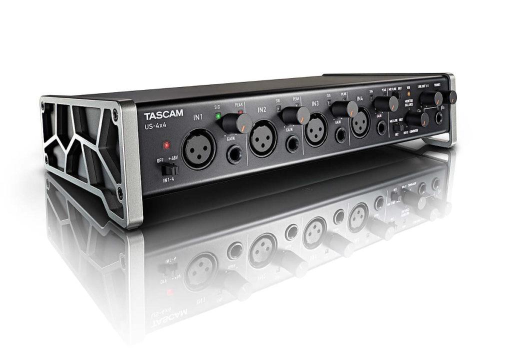 Interfaz de audio Tascam US-4x4