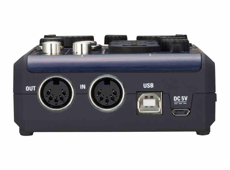 Interfaz de audio Zoom U-44 - panel frontal