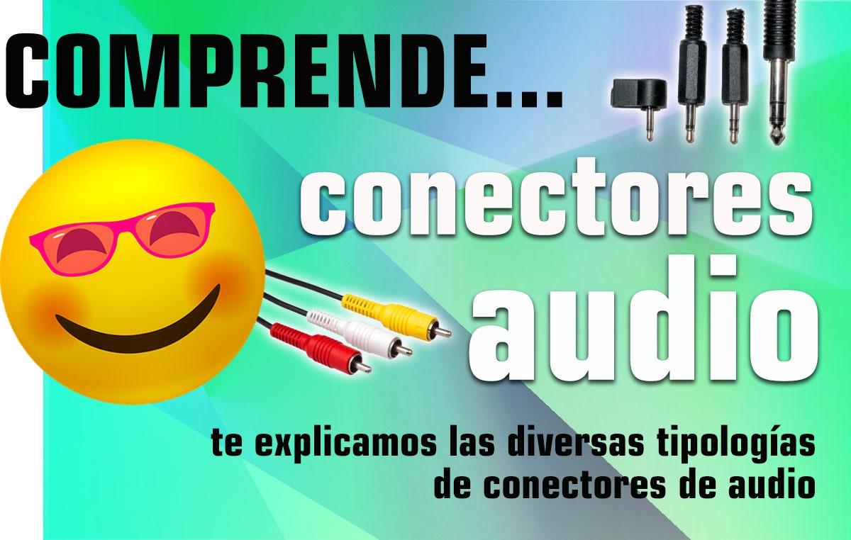 Conectores de audio