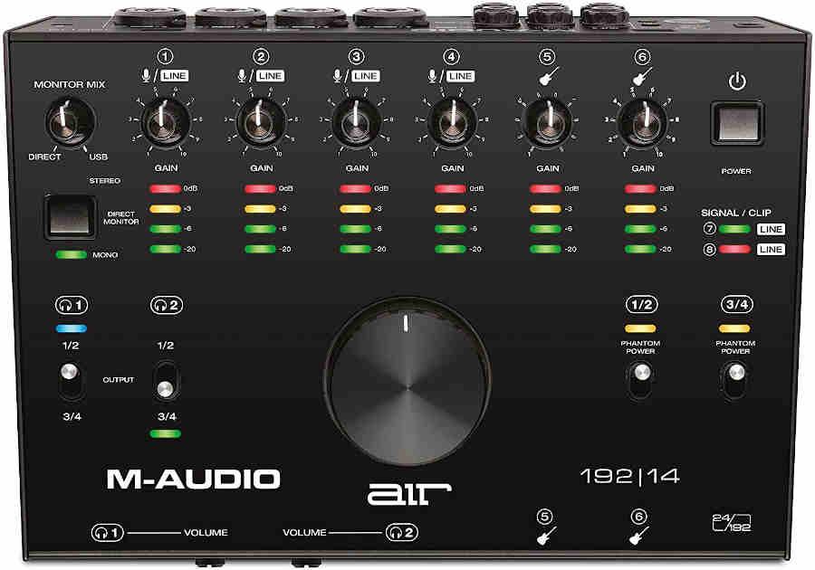 Interfaz M-Audio AIR 192|14