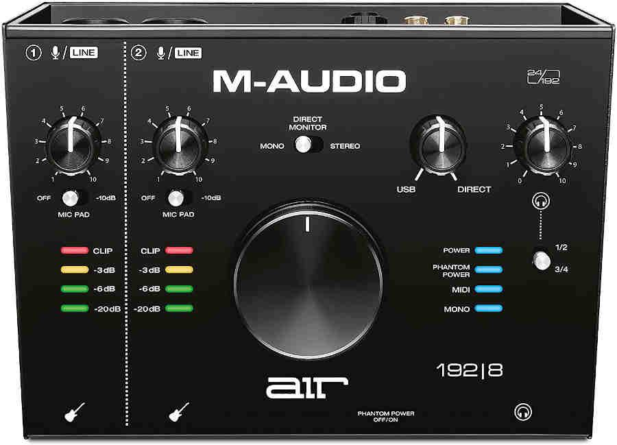 tarjetas de sonido M-Audio AIR 192|8