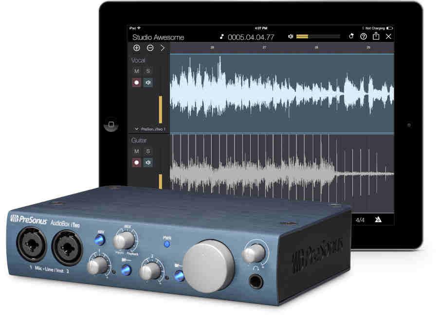 Presonus-audiobox_itwo - Tarjetas de sonido Presonus
