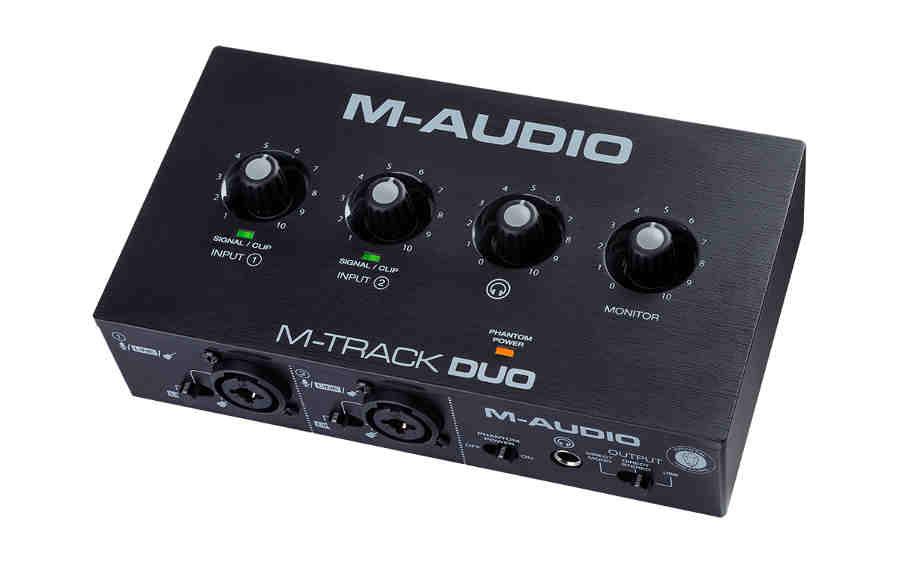 Interfaz de audio M-Audio M-Track Duo