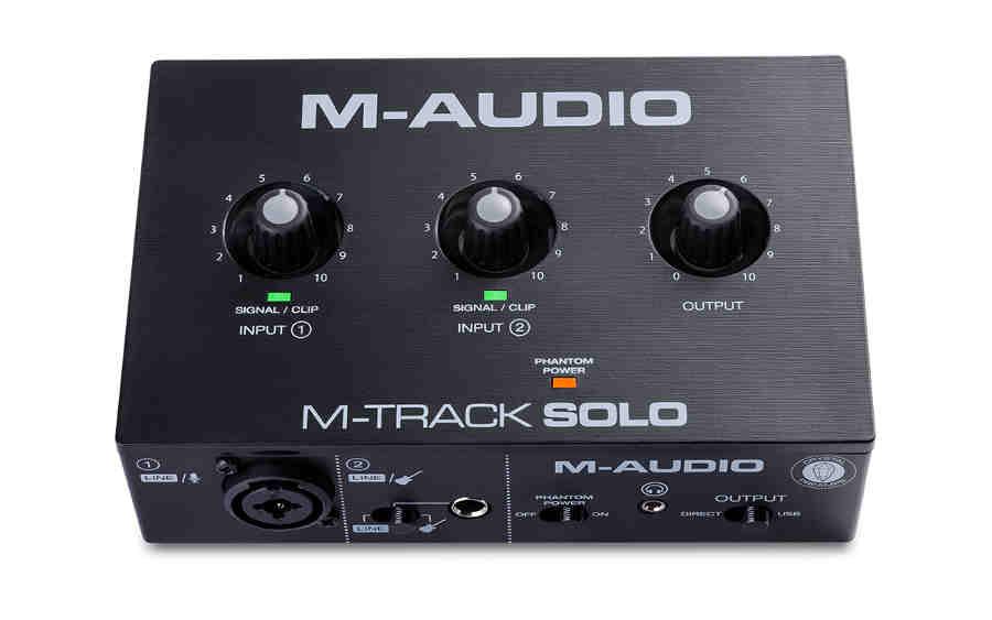 Tarjeta de sonido M-audio  M-Track Solo