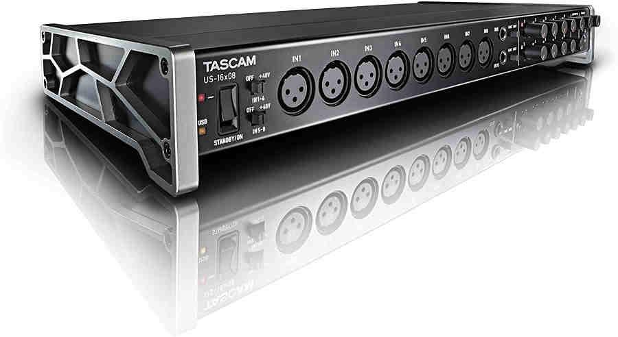 Tarjetas de sonido Tascam US-16x08