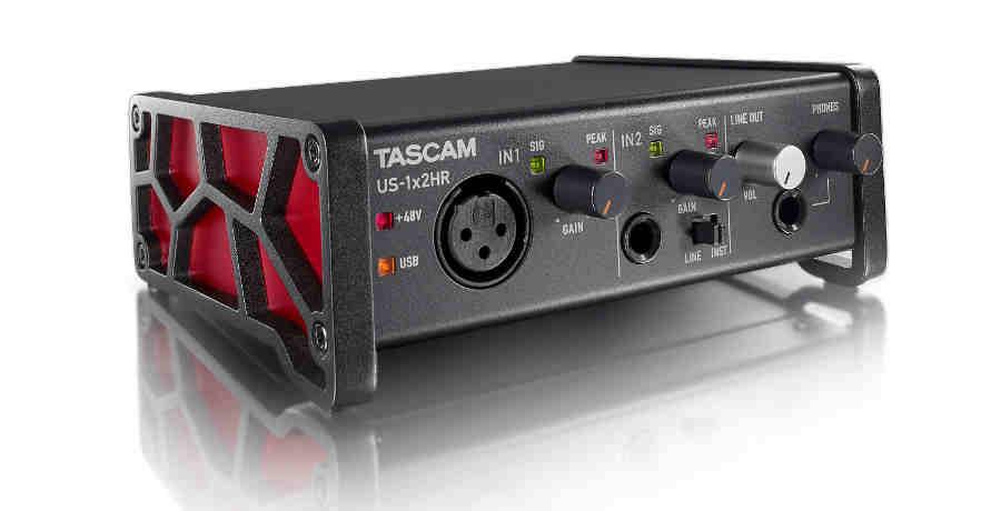 Tarjetas de sonido Tascam US-1×2HR