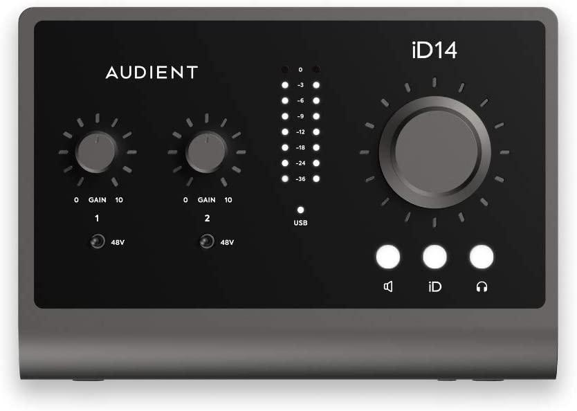 Tarjeta de sonido AUDIENT ID14 MKII