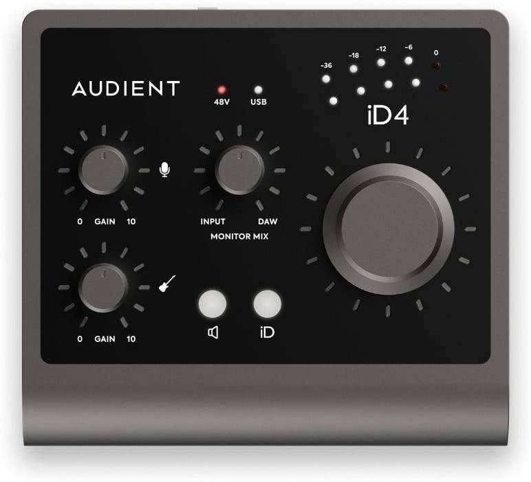 Tarjetas de sonido AUDIENT ID4 MKII