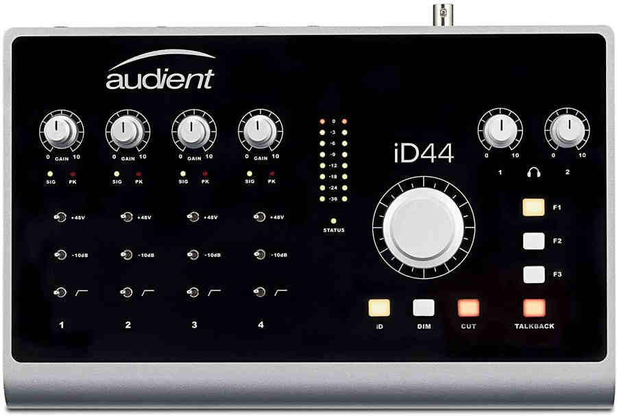 Tarjeta de sonido Audient iD44