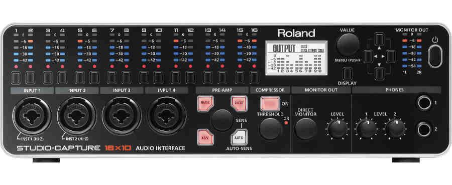 Tarjeta de sonido Roland Studio Capture