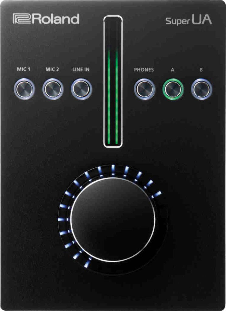 tarjeta de audio usb Roland Super UA