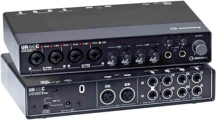 Tarjeta de audio Steinberg UR44C