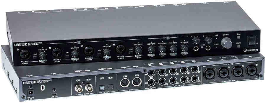 Interfaz de audio Steinberg UR816C