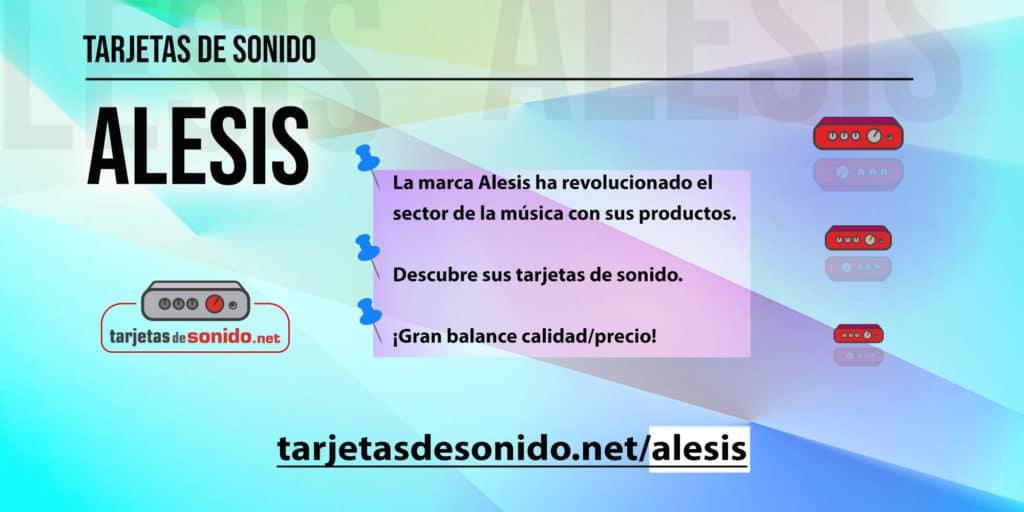 Tarjetas de sonido Alesis
